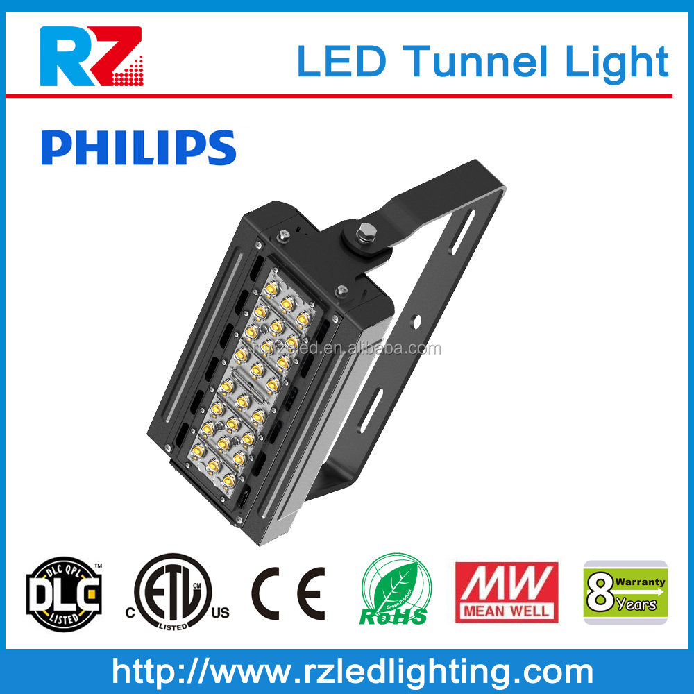LM79/LM80/IES test report provided Meanwell Driver high power led tunnel light