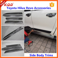 hilux accessories 2016 Side Door Streamer for toyota hilux 4x4 body side moldings for pickup truck accessories