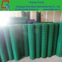 1x1 pvc coated welded wire mesh roll for cage mesh cheap price
