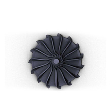 customized investment precision die casting fan impeller/impeller pump/blower impeller