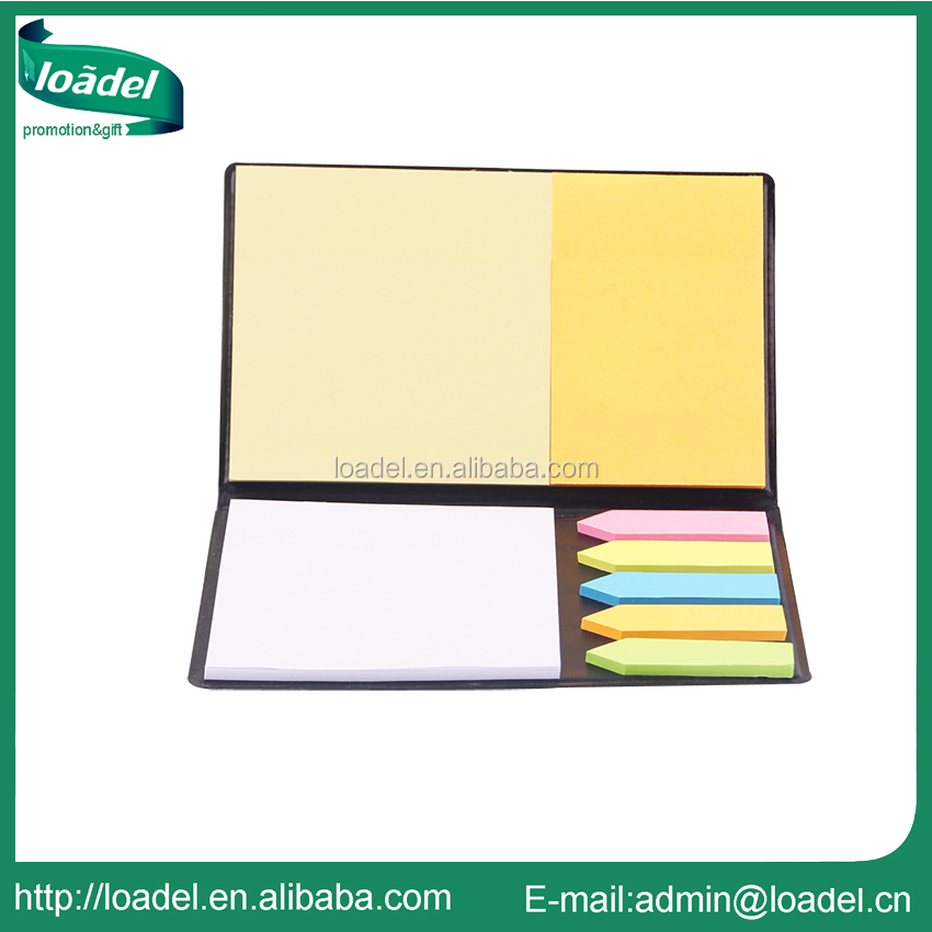 Promotional brand pu leather mini notepad
