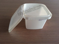 thin wall plastic injection container mould for packing