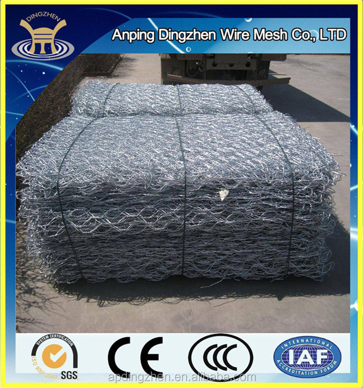 Canopy Material and Bottom-Freeze Application Gabion Mesh