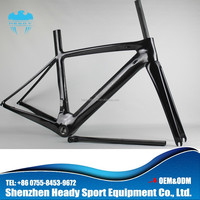 Carbon Fibre 700C Bicycle Fork and Carbon Frame Bike no Brand, China carbon bike frame in new style