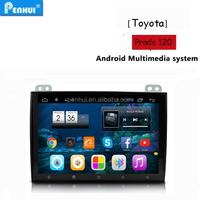 PENHUI Android Special Car PC GPS Player for Toyota Prado 120 2004-2010 Support RDS+ BT+Wifi+DVR+TPMS + 3G