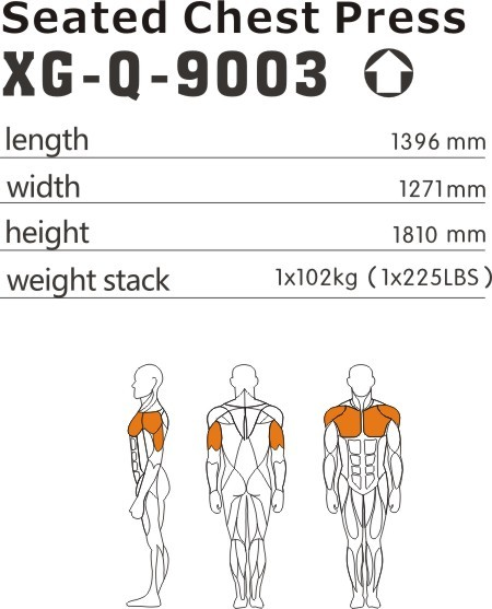 Seated Chest Press XG-Q-9003