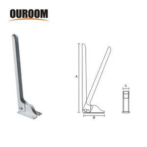 Ouroom/OEM 412429-1 Wholesale Product High Quality Hidden Floating Wall Mount Shelf Bracket Decorative