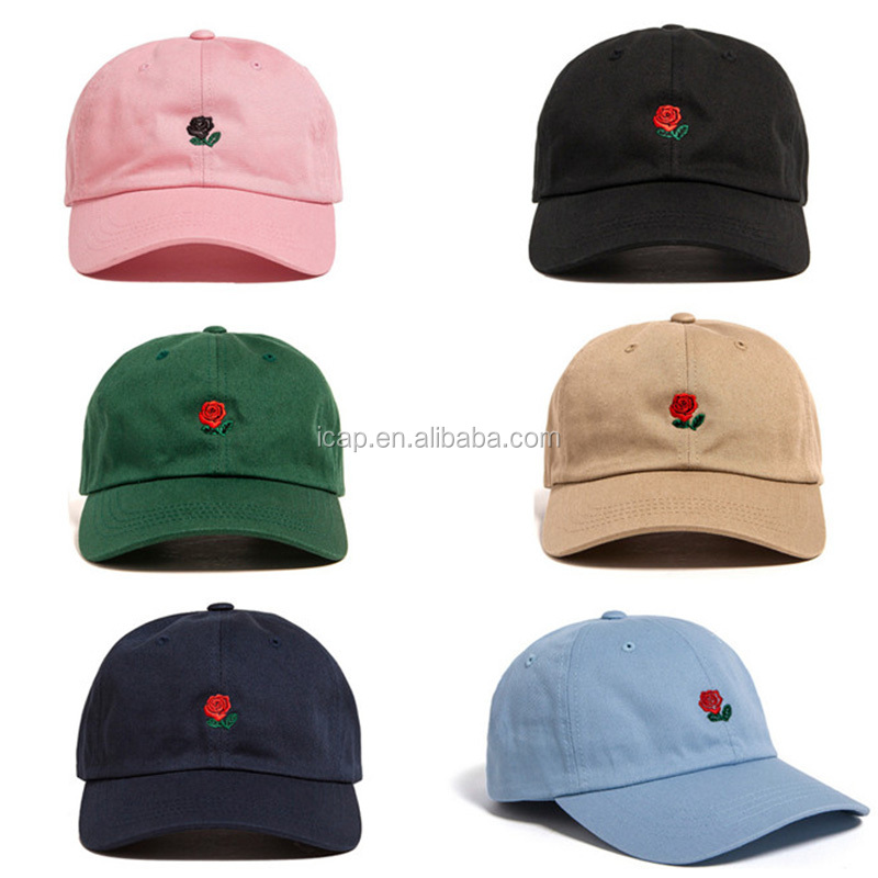 c14de297f37 wholesale 6 panel embroidery logo unstructured dad hat custom cotton  baseball cap