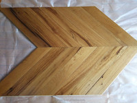Natural old oak multilayer chevron parquet flooring