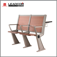 Leadcom school foldable lecture hall chair and desk LS-928MF