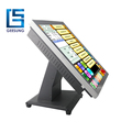 New 17 Inch Capacitive Touch Screen All In One Pos Terminal Fully Flat- AIO-1789C