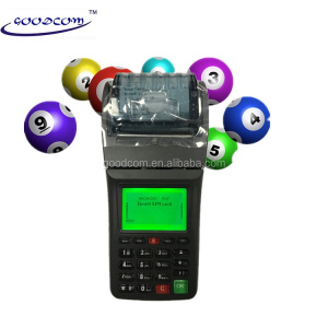 Portable Lottery Ticket Printing Machine For Sale software customized