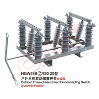 2016 Best Selling High Voltage 12Kv 24Kv 33Kv Disconnect Switch /Disconnector / Disconnecting