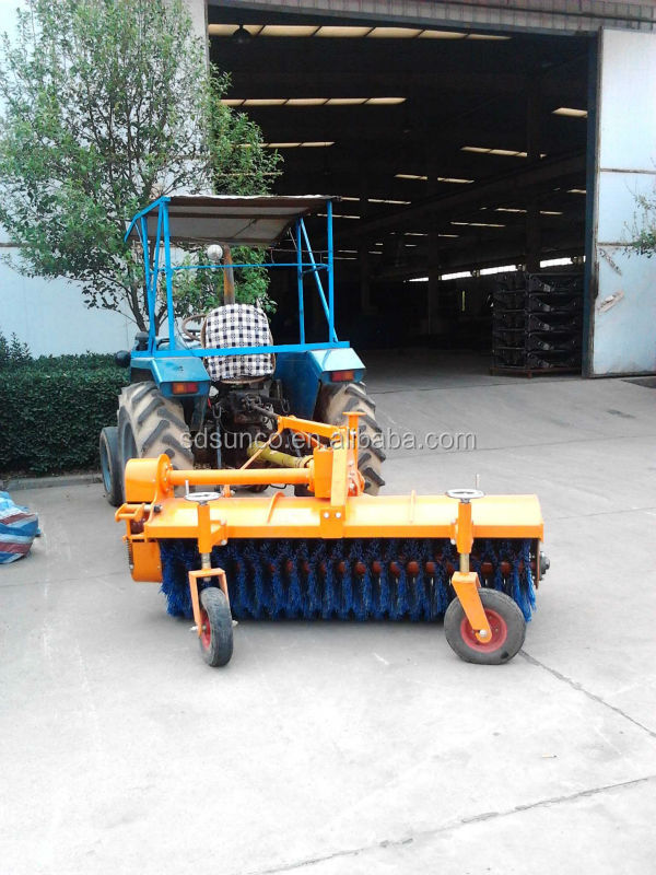 High Quality ! CE Farm/Garden Tractor / ATV Mounted Road Sweeper / Broom / Plow Exported Worldwide