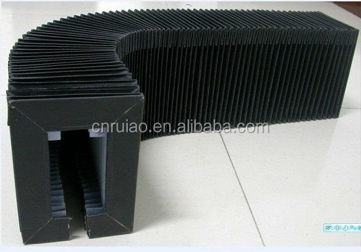 fire resistance ,waterproof, oil proof , flexible accordion way cover