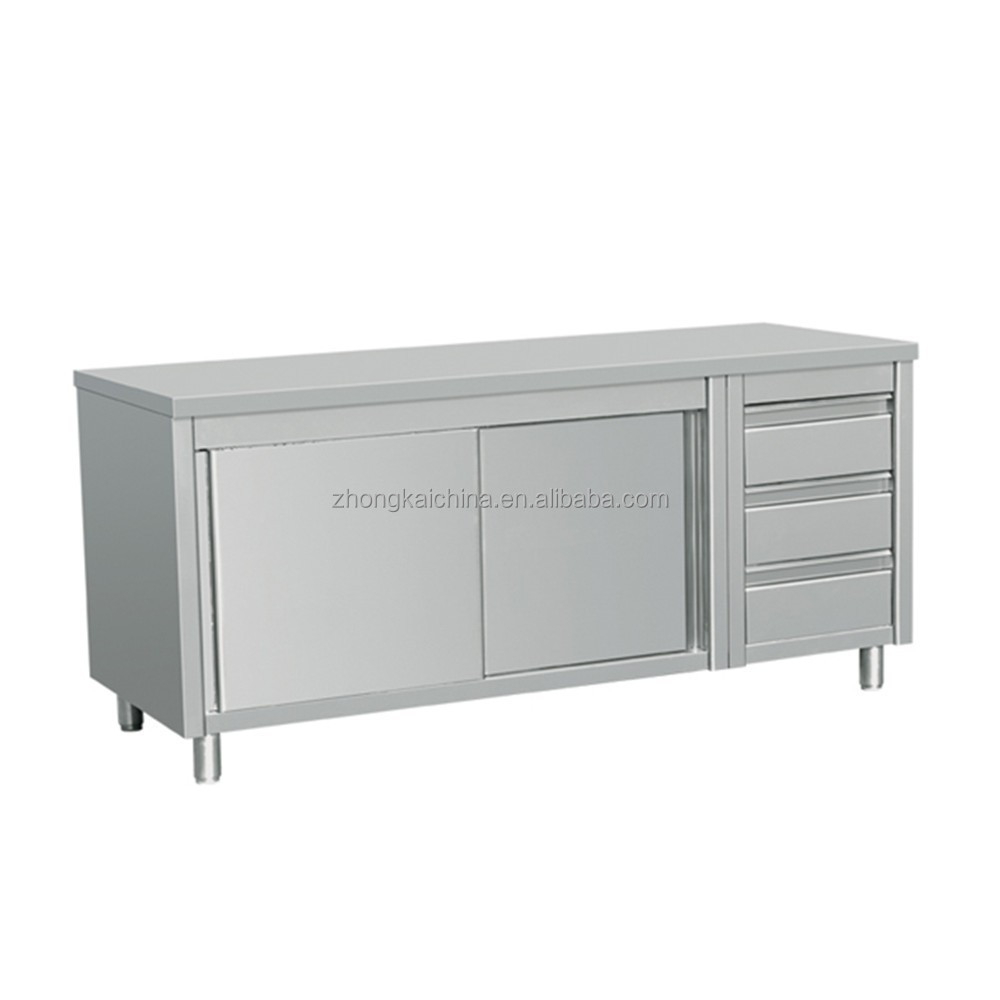 Stainless Steel Cabinet Commercial Kitchen Restaurant Cabinet Kitchen
