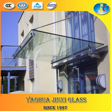 2016 new tempered glass roof with certification