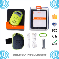 2015 Bonroy Hot Selling Silicone Sucker Mini Wireless mini Bluetooth waterproof speaker For mobile phone