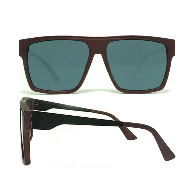 Sunglasses brand your own square classic vintage UV400 polarized sunglasses free sample sunglasses
