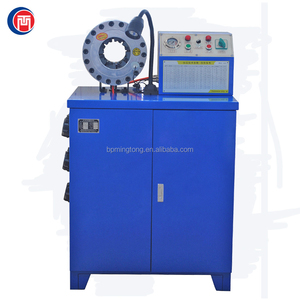 High quality hydraulic cutting and crimping machine for low and high pressure hose
