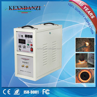 best seller KX5188-A18 high frequency induction copper melting machine/machine manufacturer