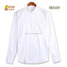 semi open chest solid color casual style men's shirts
