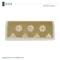 flower design ladies fashion clutch bag