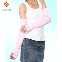 Women Nylon Spandex UV Protection Arm Sleeve