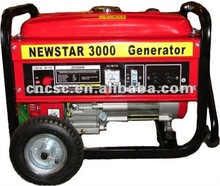 6KW Portable Gasoline/Petrol Generators for Home