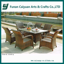 classic style artificial rattan resin wicker patio furniture