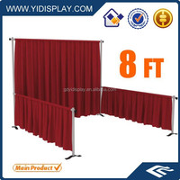 Pipe and drape used on trade show