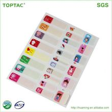 Logo Printed Roll Adhesive Sticker/Label