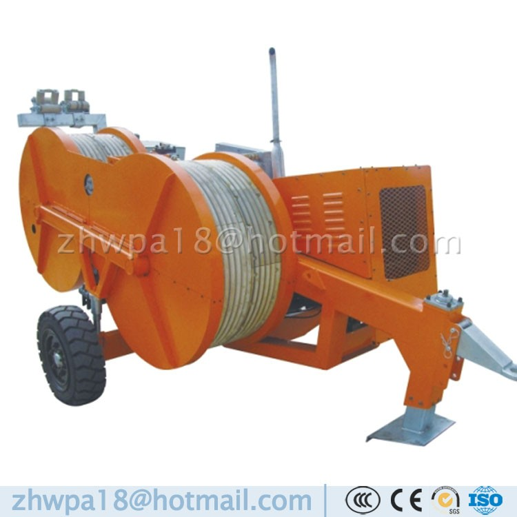 Hydraulic Cable Pulling Machine : Kn pullers tensioners hydraulic bullwheel tensioner