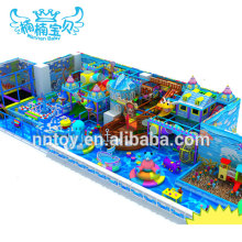 Commercial children soft safe playland indoor playground equipment