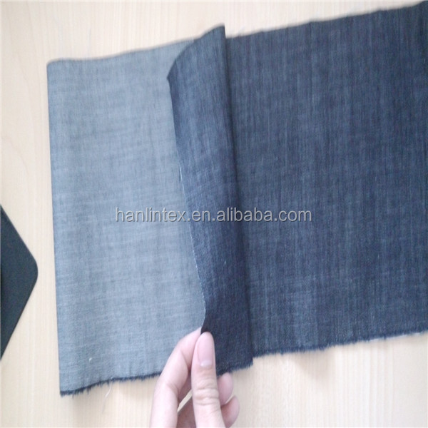 7.5oz Thin 98% Cotton 2% Elastane Denim Fabric stocklot for jeans