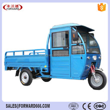 Heavy loading cargo tricycle with cabin