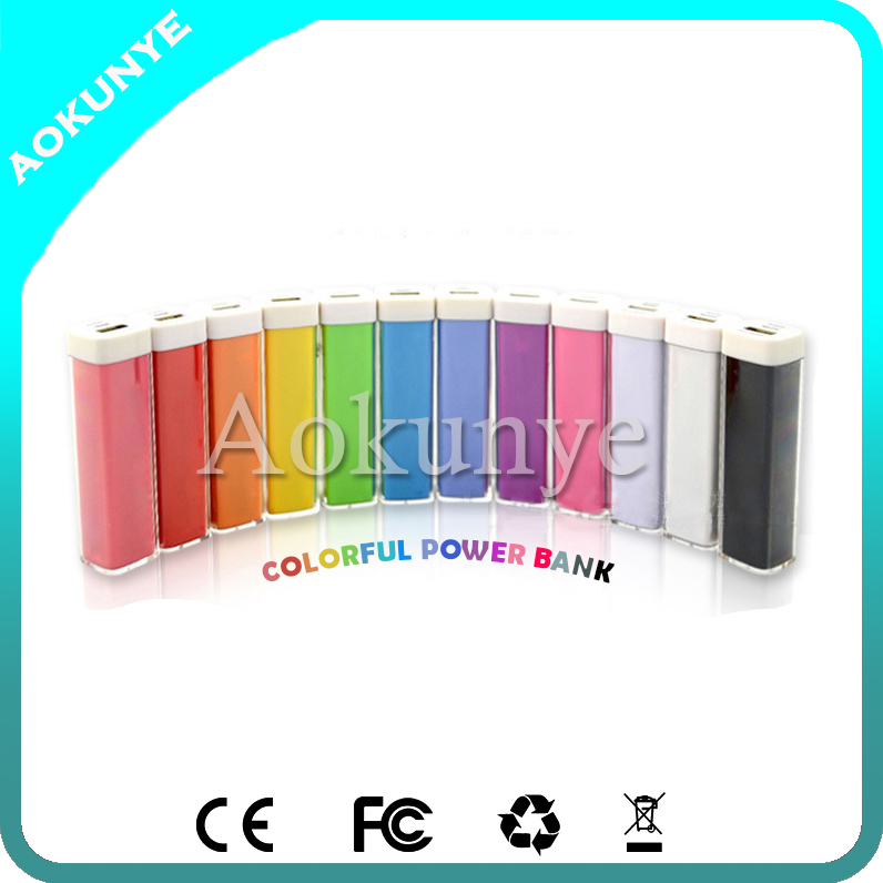 Promotion Gifts! Portable Power Bank 2600mAh, Mobile Power Banks 2600mAh