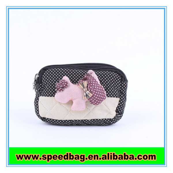 Lovely Little animal cotton Coin Purse for girls