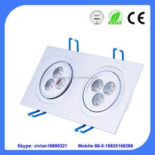 3W*2 led spot light, 6w led spotlight with two heads, led spotlight lighting 12w 9w 24w