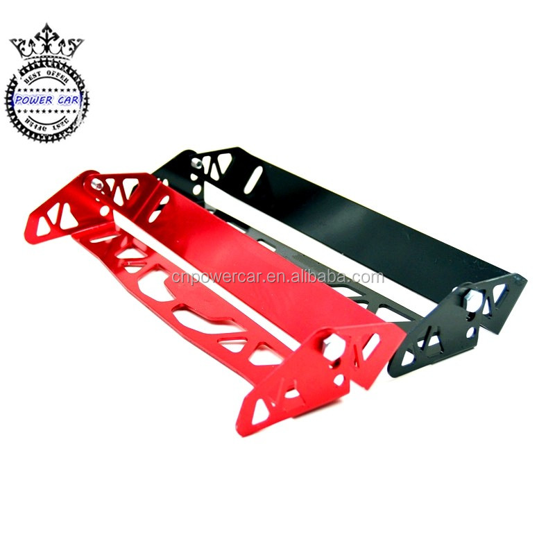 Alluminio Auto License Plate Frame Holder