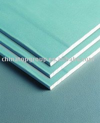 Water proof&resistance gypsum board &gypsum wall panels(1200*2400 1220*2440 1200*1800)
