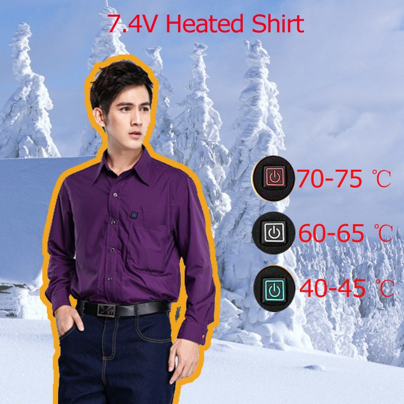 winter shirt for men heating health care bespoke tailored uniform shirts design for Canada