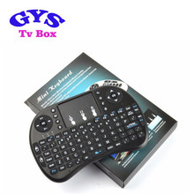 2.4GHz Mini wireless keyboard i8 2.4G Keyboard Touchpad and backlit Google Android TV Box Media Control