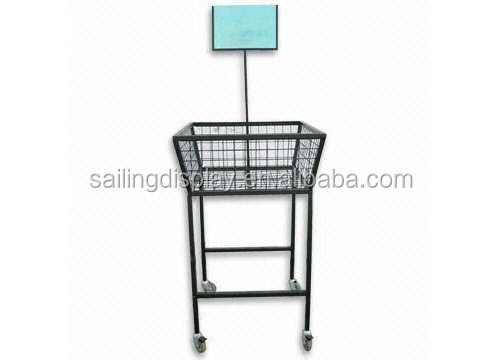 CD Display Basket/Clothes Display Rack