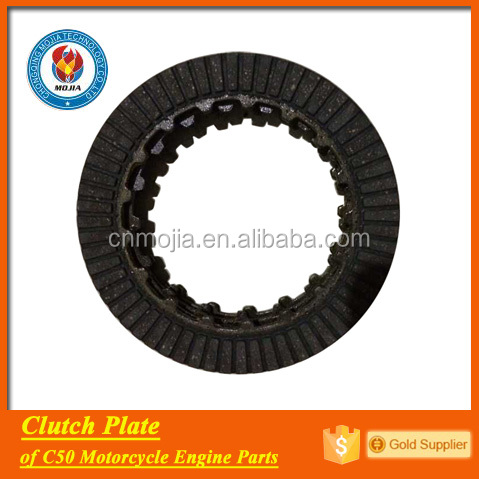 C50 engine spare parts clutch lining for motorcycles