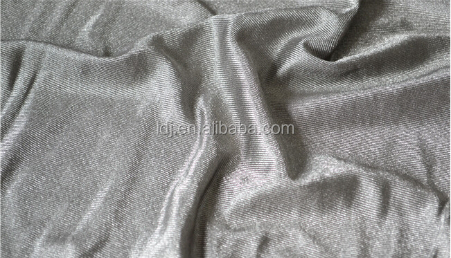 100% silver fiber radiation protection fabric for mens boxer shorts