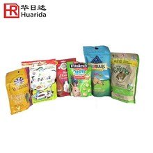 Dog Food Packaging Stand up Bag Zipper Pouch