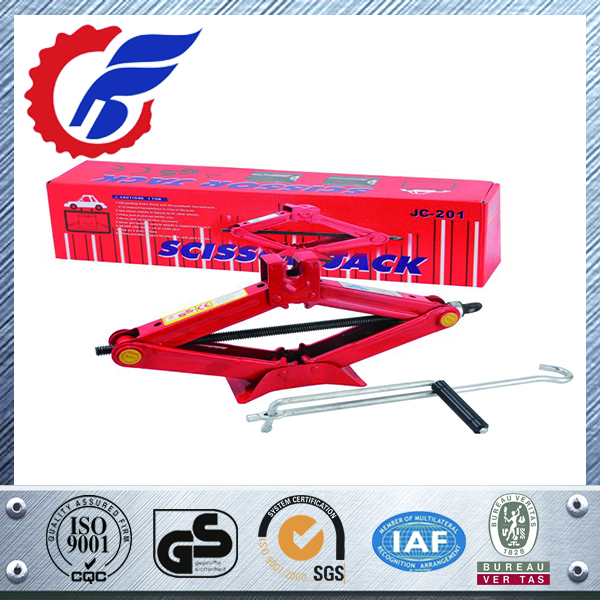 High Quality 2 ton mechanical scissor lift jack
