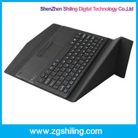 10.1inch Slide wireless mini bluetooth keyboard case with touchpad