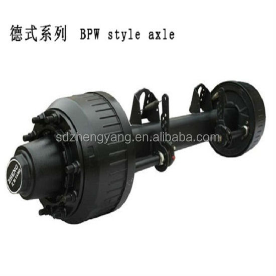 China heavy duty stong york axle and parts